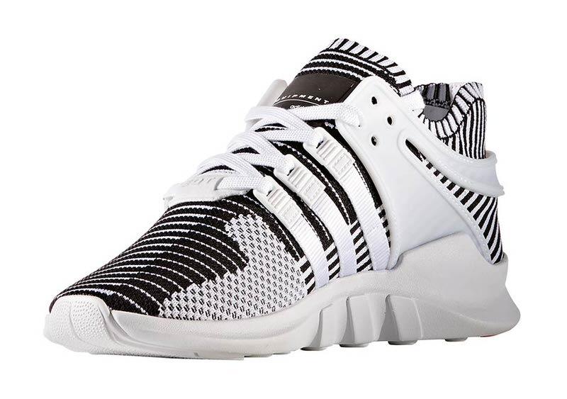 adidas eqt black white