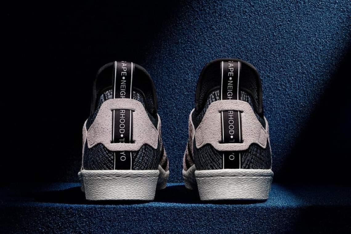 BAPE x NEIGHBORHOOD x adidas Superstar Boost