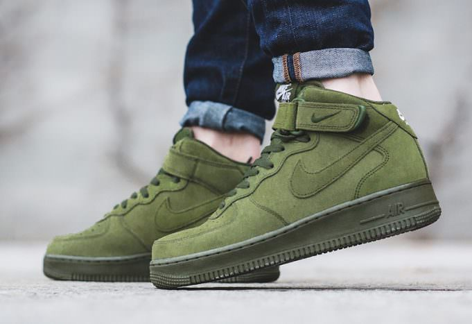 hot sale online 639d9 a09d4 ... spain nike air force 1 mid legion green bf752 b8044