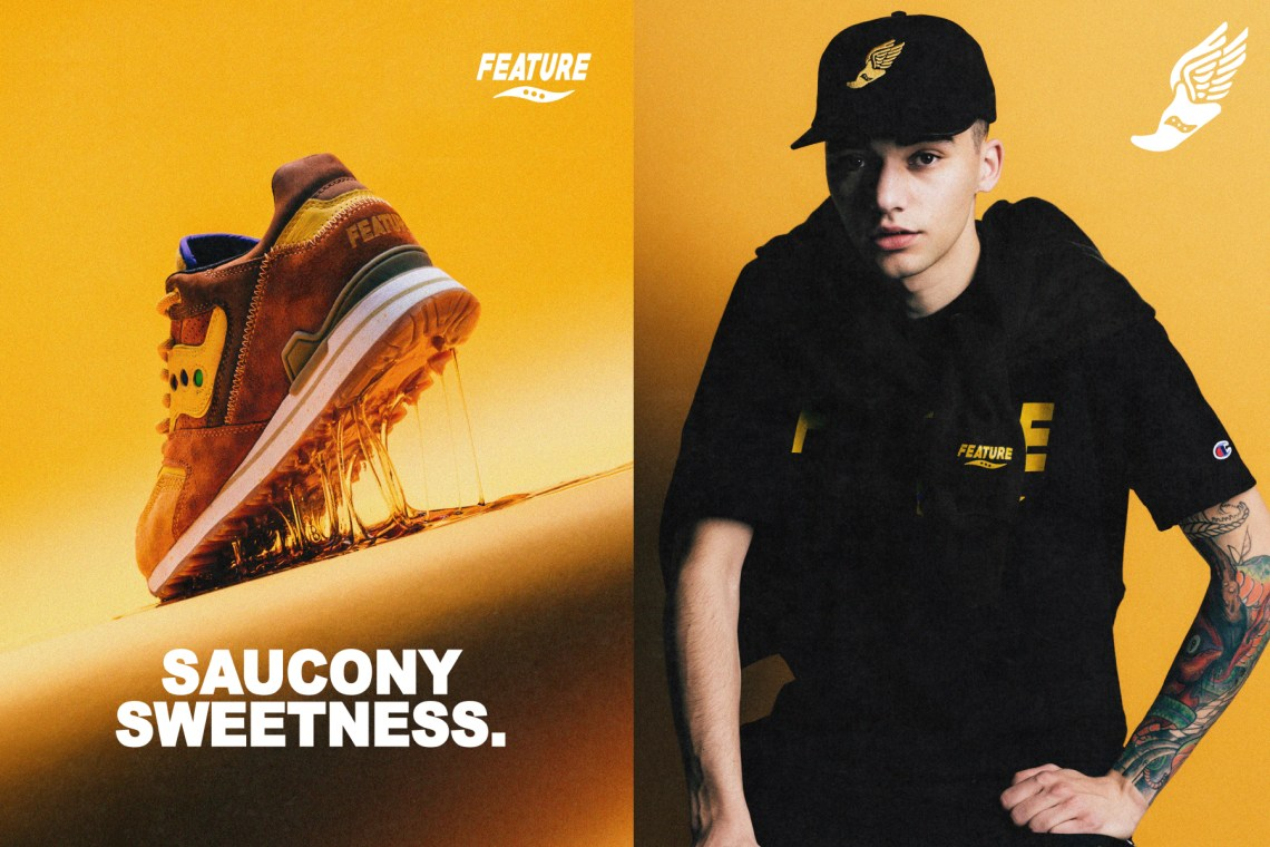 4b2568bae348 Feature x Saucony Courageous