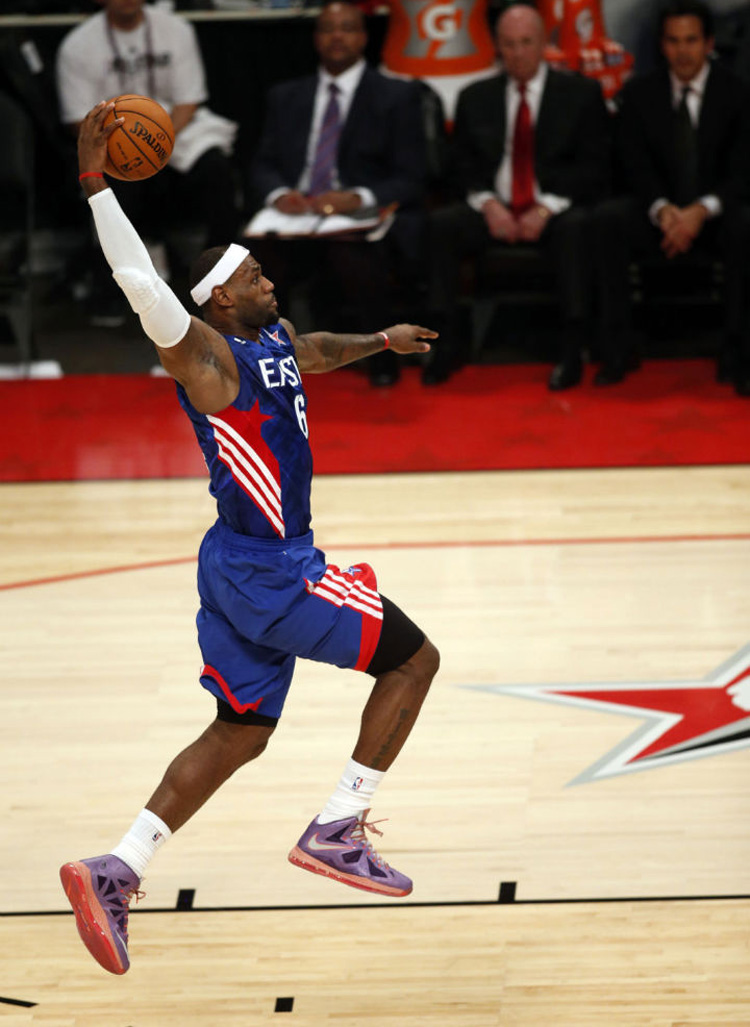 Nike LeBron X (2013 / Houston)
