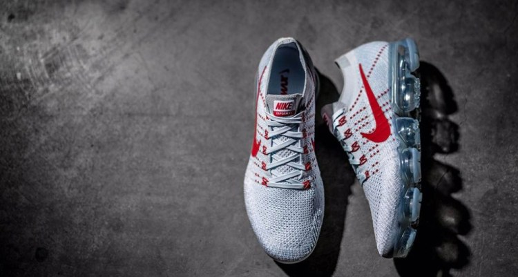 outlet store 3441e 43cce Nike VaporMax Grey/Red | Nice Kicks