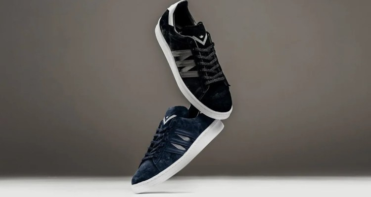 quality design 33d2a e1665 White Mountaineering x adidas Campus 80s Collection