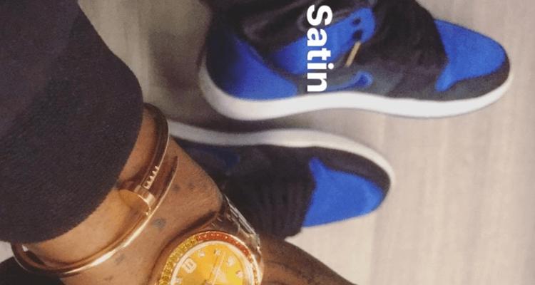 "Air Jordan 1 Satin ""Royal"""