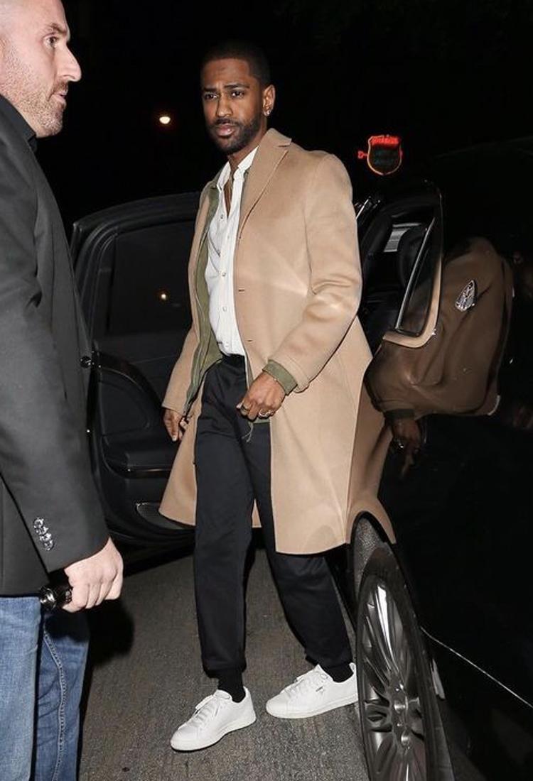 Big Sean in the PUMA Clyde