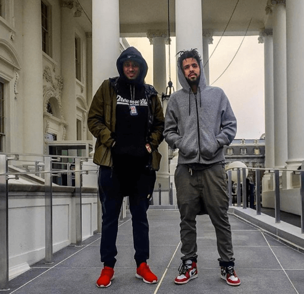 "J Cole in the Air Jordan 1 ""Chicago"""