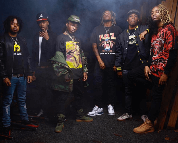"""Jacquees in the Nike SF-AF1 """"Olive"""""""