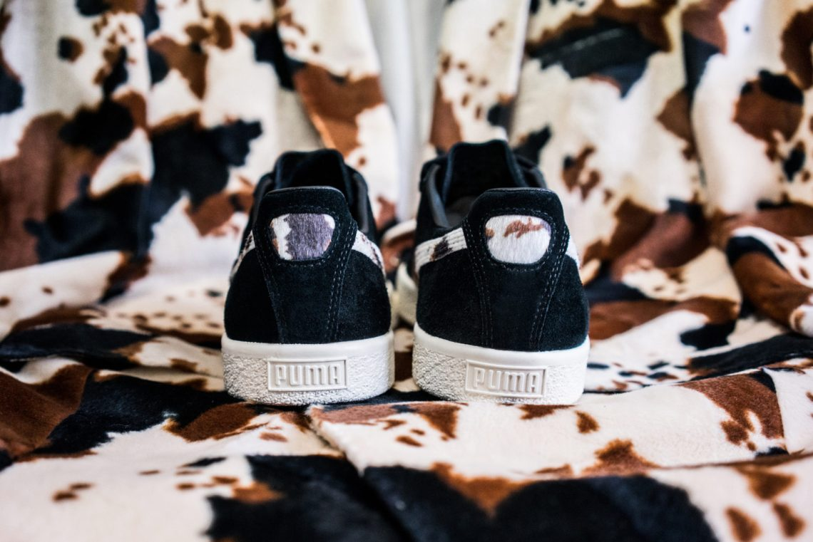 "Packer x Puma Clyde ""Cow Suits"" Pack"
