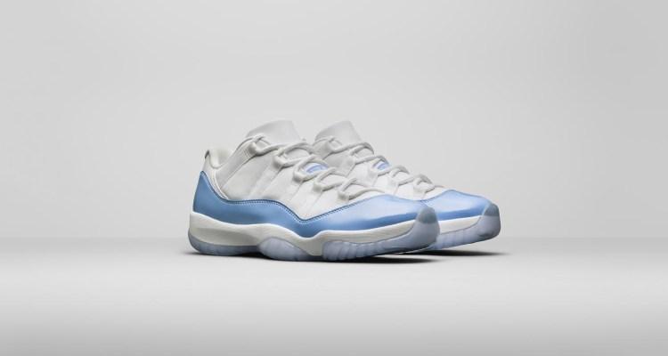 "Air Jordan 11 Low ""University Blue"""