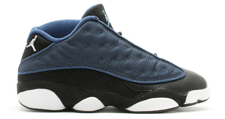 "Air Jordan 13 Low ""Brave Blue"""