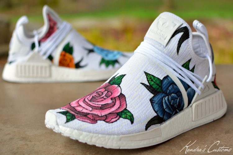 finest selection a0f78 1aa09 Kendras Customs Brings Pharrell Vibes to New NMD Custom ...