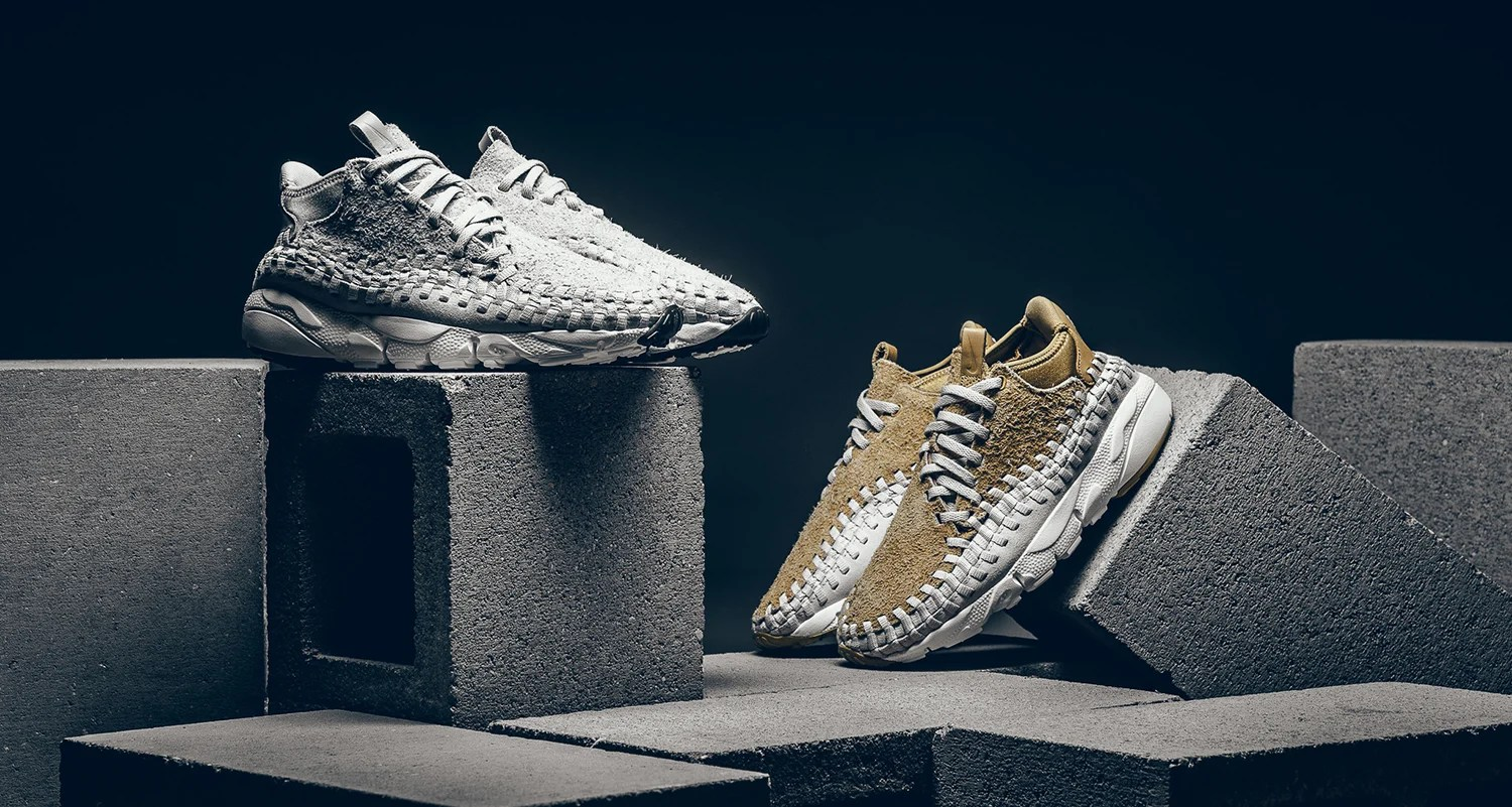 designer fashion 9b981 fc52a Nike Air Footscape Woven Chukka Releasing in New Colorways This Week