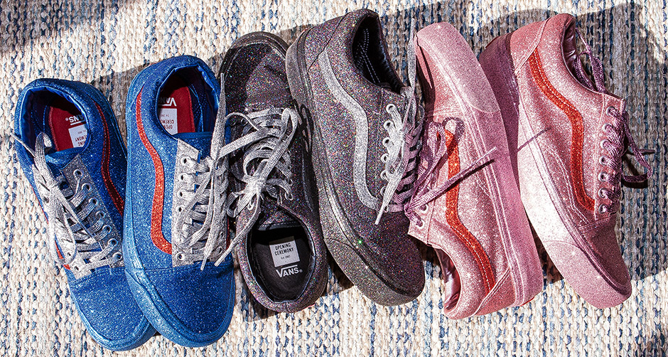 "c87a9055377 Opening Ceremony Brings the Shines to New Vans Old Skool ""Glitter Pack"""