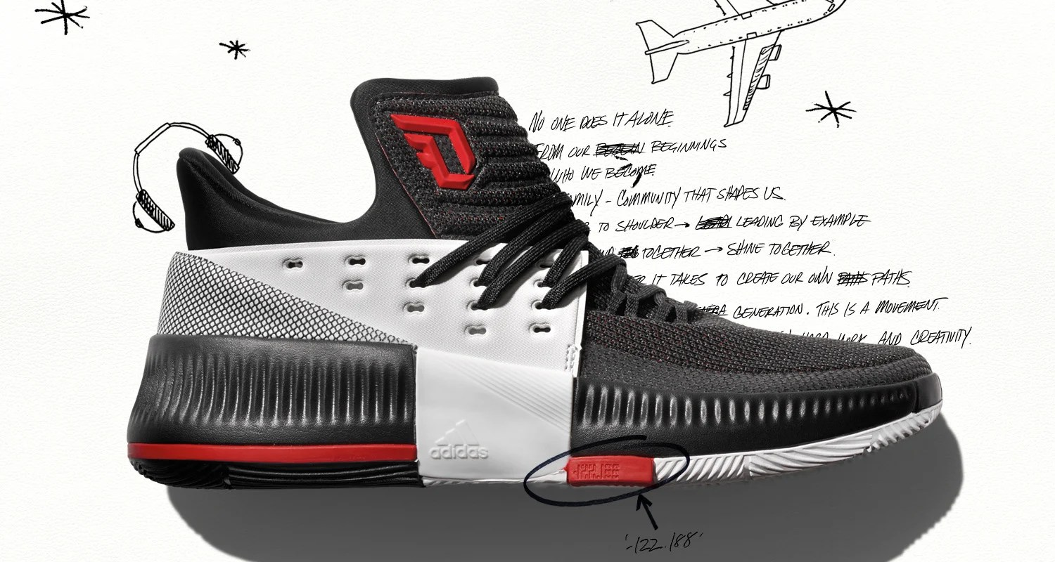 "the best attitude c4d01 090f5 Damian Lillard and adidas Hit the Road for ""On Tour"" Dame 3 Edition"