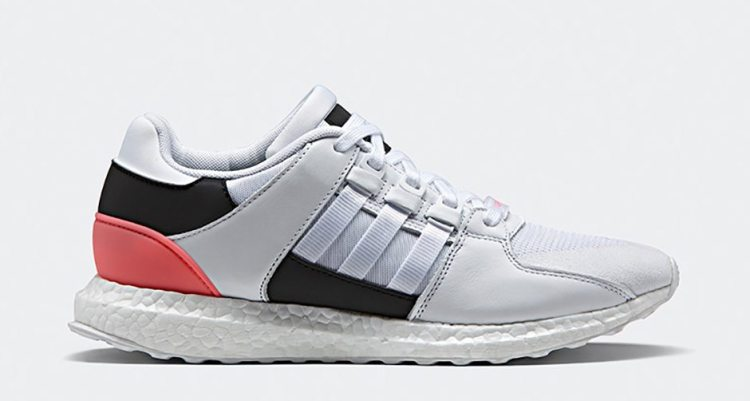 adidas EQT 91/16 White/Turbo Red