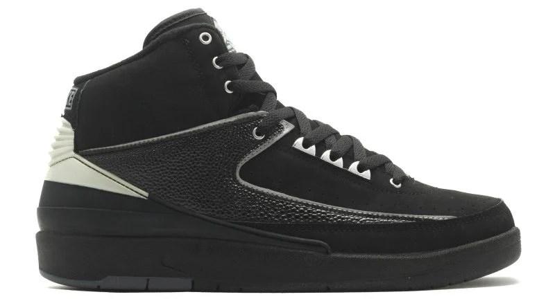 Air Jordan 2 Black Chrome