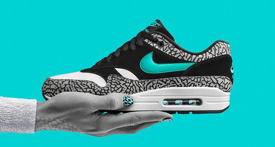 "wholesale dealer fcc66 479a4 atmos x Nike Air Max 1 ""Elephant"""