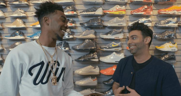 Desiigner Goes Sneaker Shopping with Joe La Puma