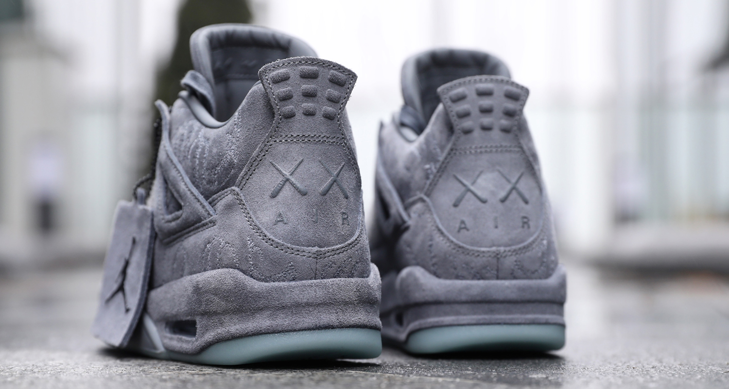 05cbbc9b030f1a KAWS x Air Jordan 4    A Closer Look
