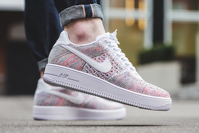 """Nike Air Force 1 Low Ultra Flyknit """"White Multicolor"""""""