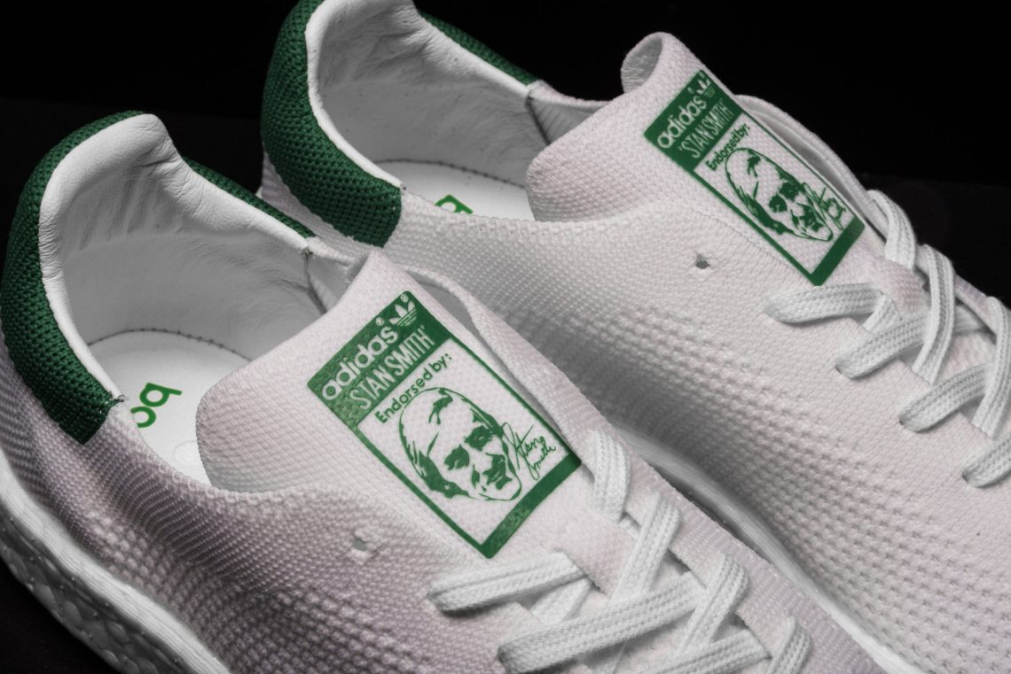 premium selection 45259 f3cea adidas Stan Smith Boost Primeknit White/Green // Available ...