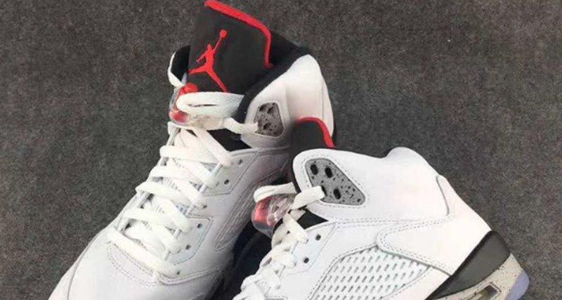 Air Jordan 5 White/Cement