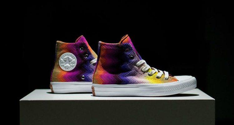 """Missoni x Converse Chuck II """"Multicolor"""""""