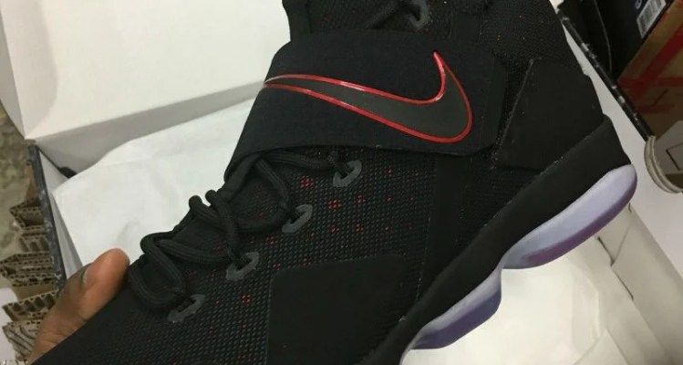 Nike LeBron 14 Black/Red