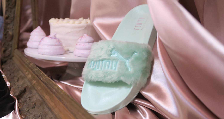 pretty nice e079c 5af98 Rihanna x PUMA Fenty Fur Slide // Summer '17 Preview | Nice ...