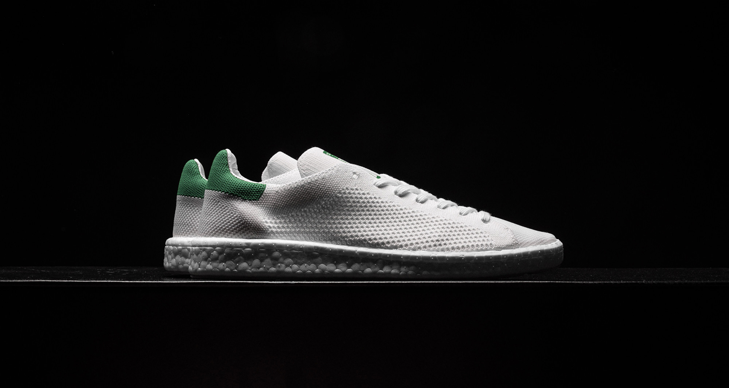 wholesale dealer 1d9a6 e30e5 adidas Stan Smith Boost Primeknit WhiteGreen  Available Now