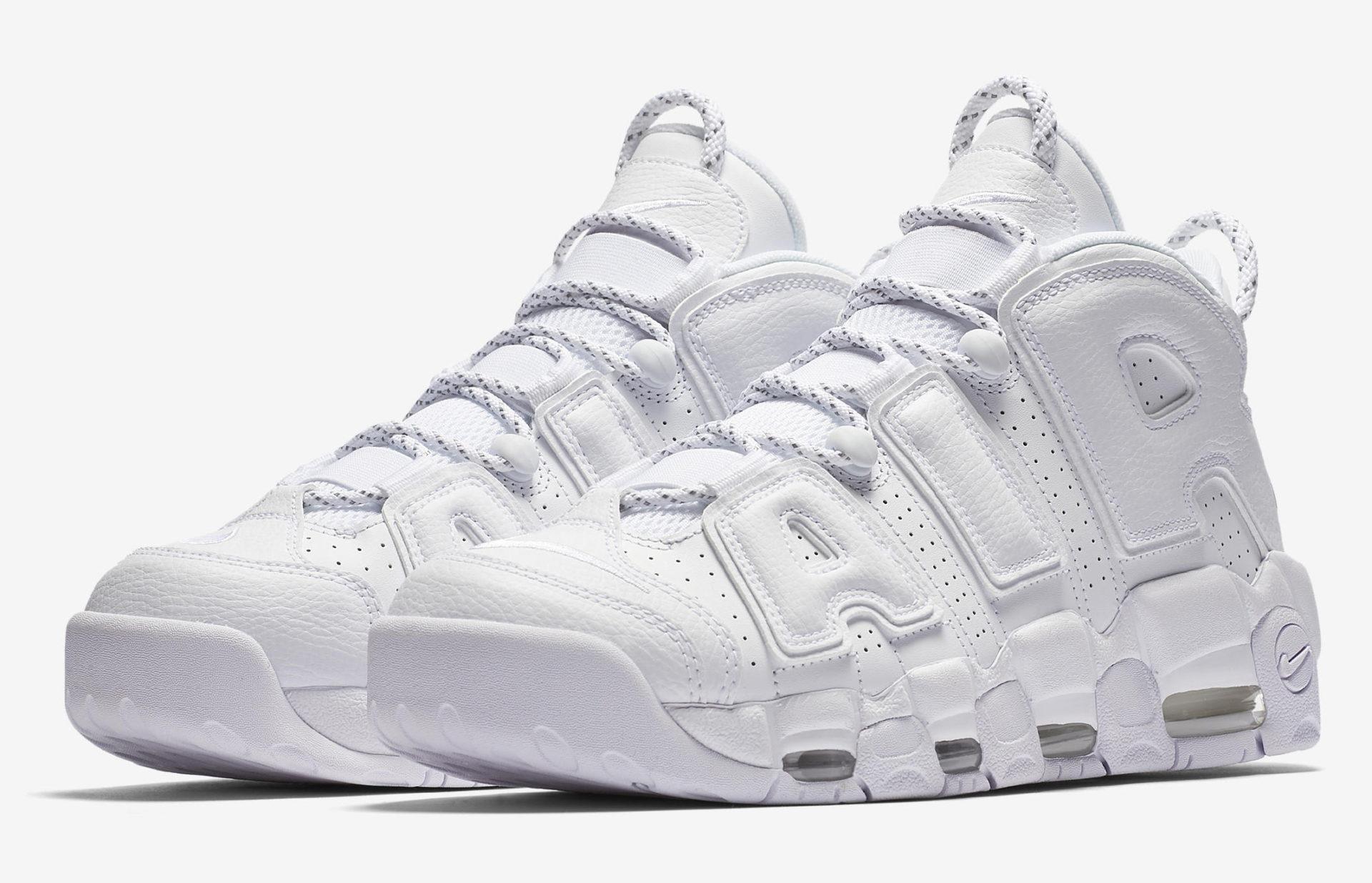 "Nike Air More Uptempo ""Triple White"" ..."