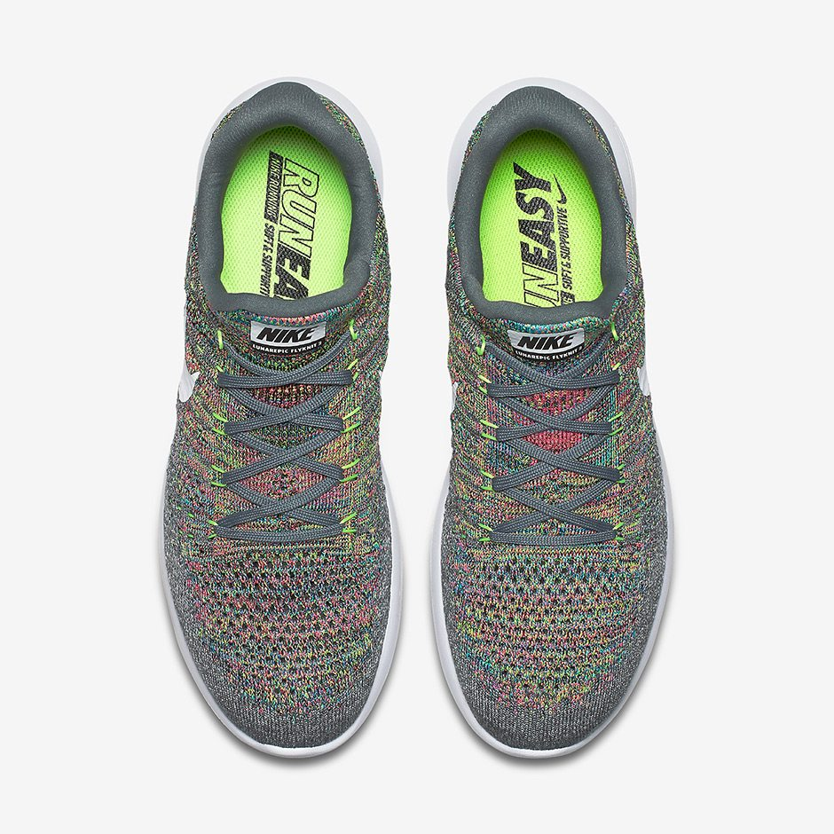 "new concept c5178 5163f Nike LunarEpic Low Flyknit 2 ""Multicolor"" ..."