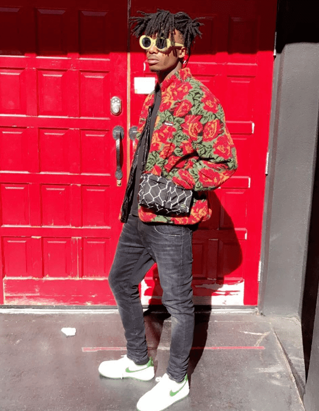 60cffe1a9d264d ... Playboi Carti in the Nike Air Force 1 Low ...