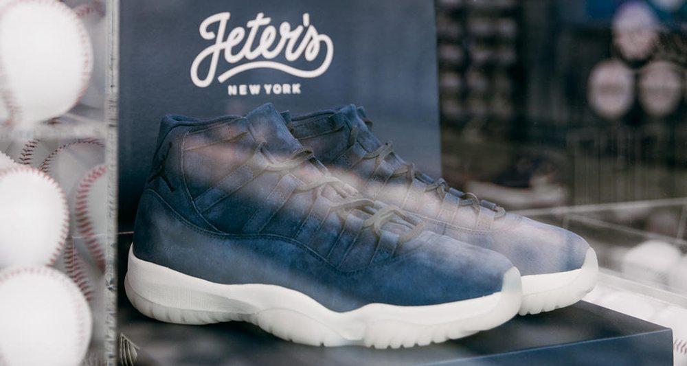 """Air Jordan 11 Suede """"Jeter"""" PE"""
