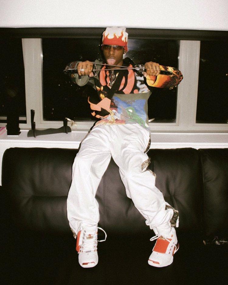Bloody Osiris in the Air Jordan 17 OG