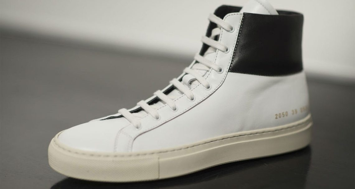 Common Projects Achilles Retro High White/Black