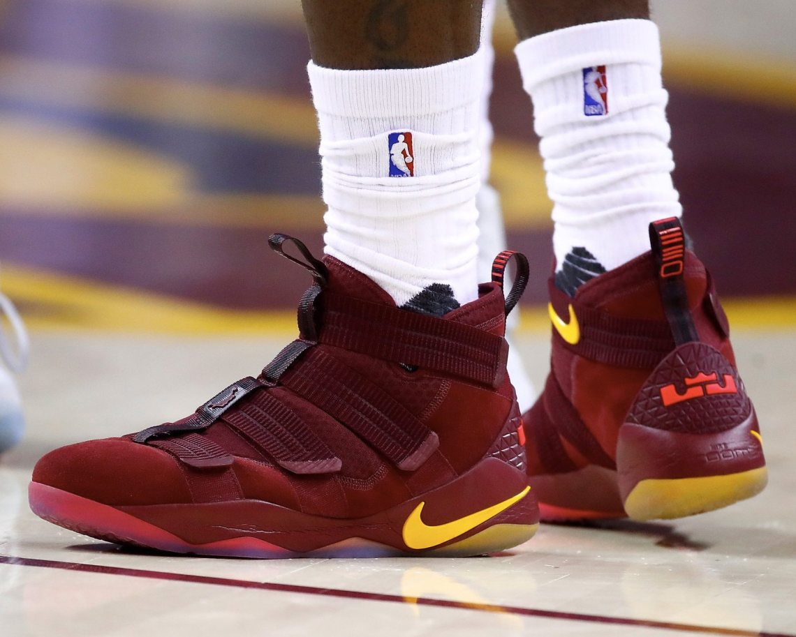 47f4df45659 Nike Zoom Soldier 11 — Game 1 vs Indiana Pacers Nike LeBron ...
