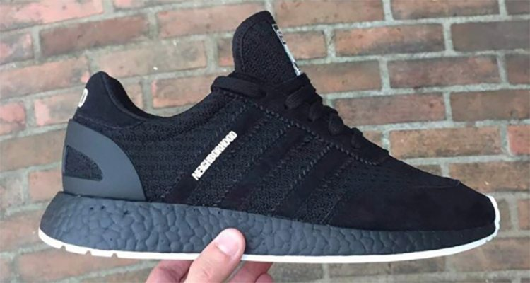 best authentic buy sale 100% genuine NEIGHBORHOOD and adidas Releasing Blacked Out Iniki Runner ...