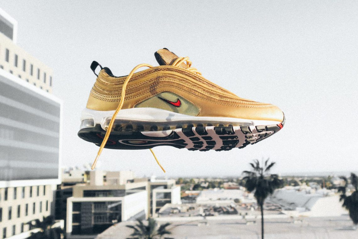 Cheap Nike Air Max 97 CR7 'Golden Patchwork' Release Date. Cheap Nike⁠+
