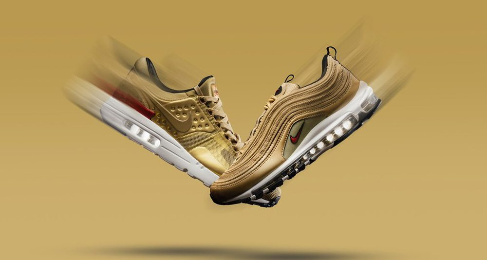 "Nike Air Max ""Metallic Gold"" Pack"