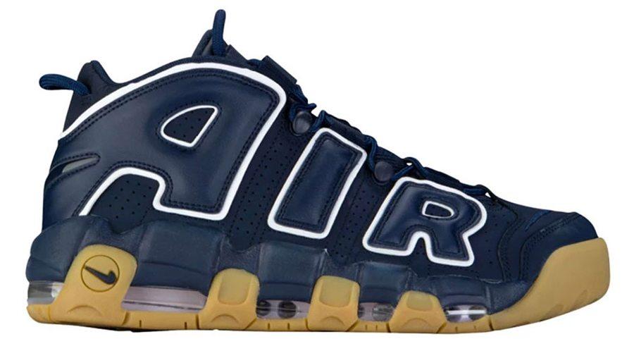 Nike Air More Uptempo Obsidian/Gum