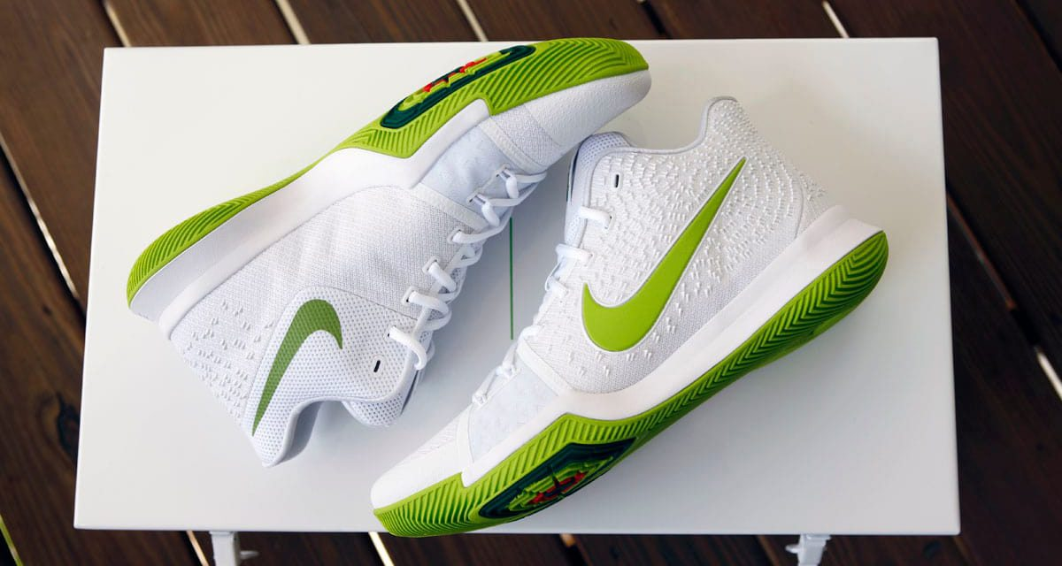 "size 40 b3abd 4f535 Mountain Dew Made a Special Edition Nike Kyrie 3 ""K.A.R.E. Kit"""