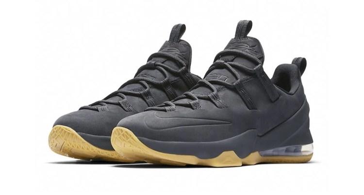 "Nike LeBron 13 Low ""Anthracite"""