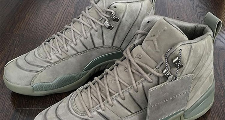 more photos 0fd7e 51b3e PSNY x Air Jordan 12