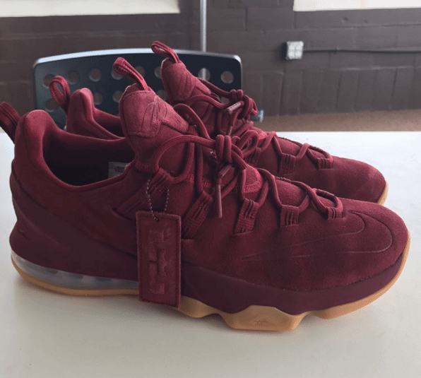 "Nike LeBron 13 Low PRM ""Team Red"""