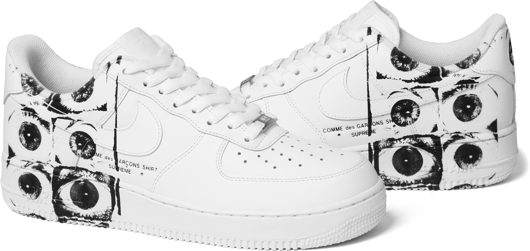 Supreme x COMME des GARÇONS SHIRT x Nike AF1 Low | HYPEBEAST