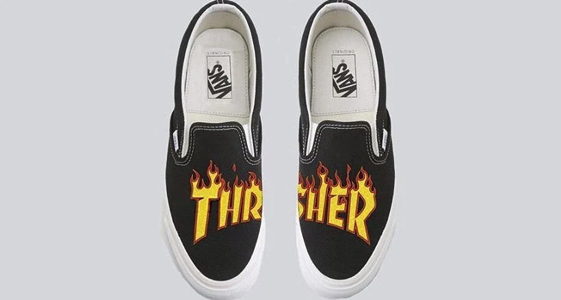 16a03d86a8 Thrasher and Vans Releasing Collaborative Collection