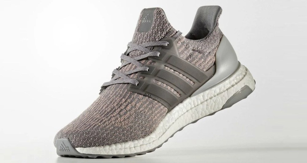 adidas Ultra Boost 3.0 Grey/Pink