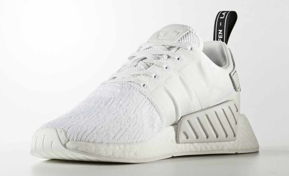 "adidas NMD R2 ""Triple White"""