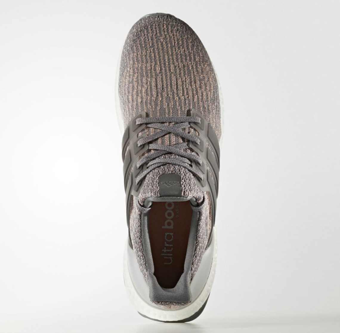 adidas Ultra Boost 3.0 Grey/Pink